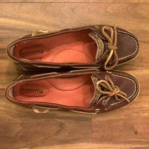 Sherry Topsider Angelfish Damask Boatshoes